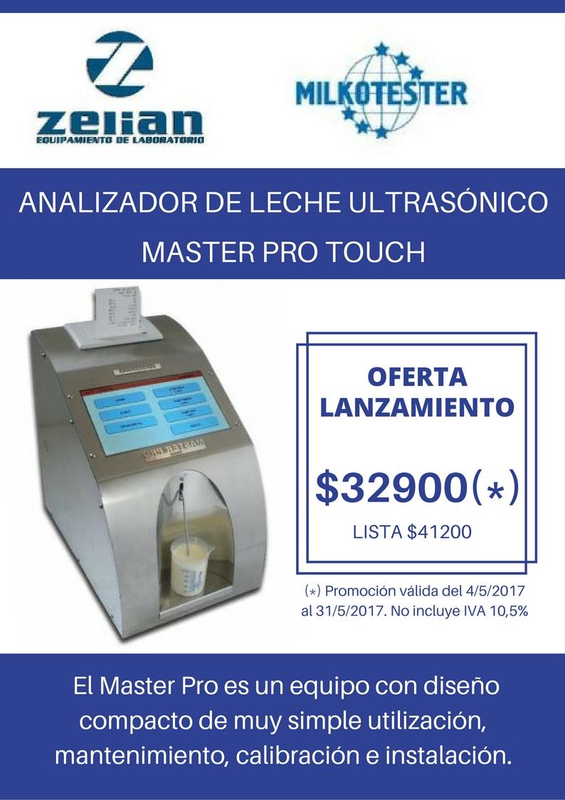 Equipamiento para laboratorio Milkotester analizador de leche Pro Touch