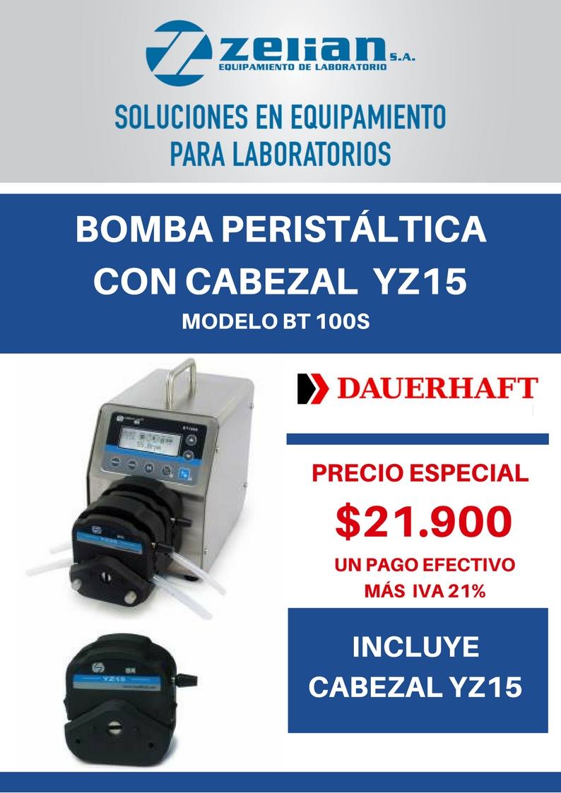 Bomba peristáltica Zelian equipamiento para laboratorios
