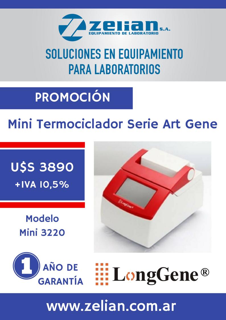 Mini termociclador - Zelian Equipamiento para Laboratorio