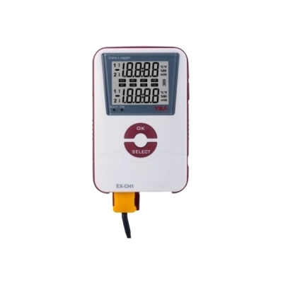 Datalogger registrador de temperatura con termocupla externa. Marca V&A, modelo VA601TK