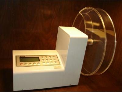 Friabilómetro base con impresora. Marca Scout Electronics, modelo FGM02