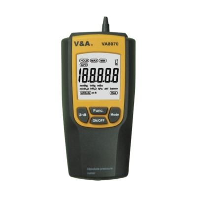 Medidor de presión absoluta. Marca: V&A, modelo VA8070