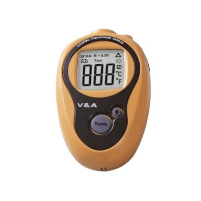 Termómetro infrarrojo, sin contacto, -20°C a +270°C, de bolsillo. Marca V&A ,modelo VA6510