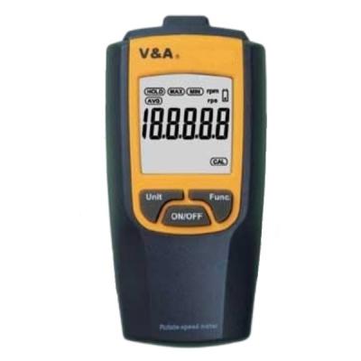 Tacómetro digital, sin contacto, de bolsillo. Marca: V&A, modelo VA8030