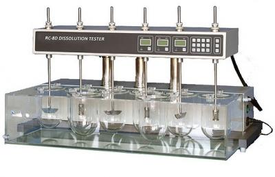 Disolutor de comprimidos de 8 vasos. marca Numak, modelo RC-8DS