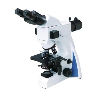 Microscopio trinocular con Epifluorescencia LED. Marca Numak, modelo Infinity EFTL