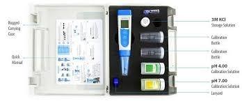 Medidor de pH (pHmetro) y ORP inteligente portátil. Marca Apera USA.Modelo pH60-Z con la aplicación móvil Zen Test.