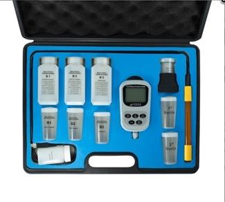 Medidor de dureza de agua portátil. Marca Apera USA, Modelo YD300 Premium